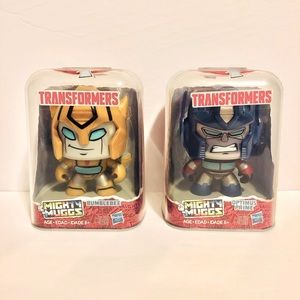 HASBRO TRANSFORMERS Mighty Muggs Bumblebee Optimus